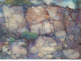Rocks by Mabel Minnich Miller