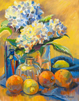 Winter Hydrangeas by Blossoming Stillness by Ruth Moses
