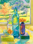 Sunlight on Glass by Blossoming Stillness by Ruth Moses