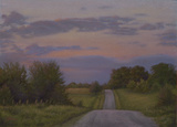 The Road at Twilight by Danielle Shier