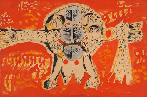 Abby Grey and Indian Modernism: Selections from the NYU Art Collection  | Events Calendar
