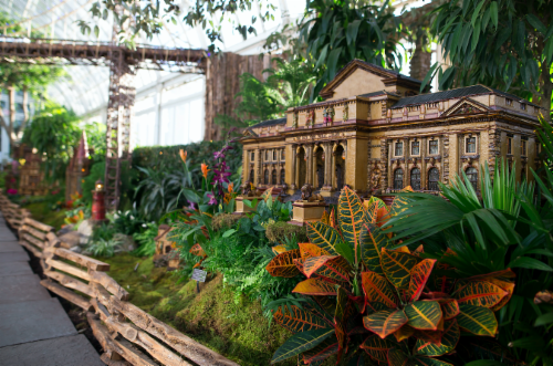 Holiday Train Show At The New York Botanical Garden At 2900 Southern Boulevard Bronx Ny 10458
