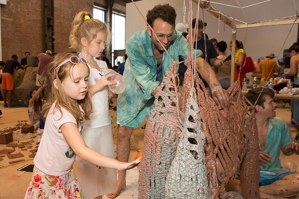 SculptureCenter's Annual Tradition - Clay Club    Events Calendar