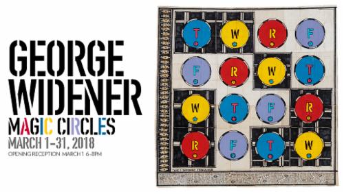 "George Widener ""Magic Circles"" | Events Calendar"
