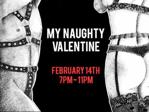 """My Naughty Valentine <3""  