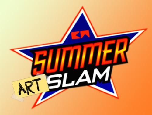 """Battle Royale: Summer Slam"" Live Painting 