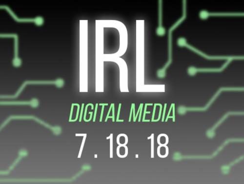 """IRL"" A Digital Showcase | Events Calendar"