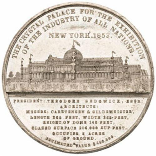 """New York Crystal Palace 1853""  