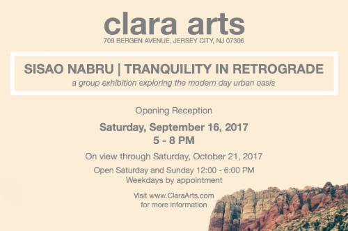 SISAO NABRU | TRANQUILITY IN RETROGRADE  | Events Calendar