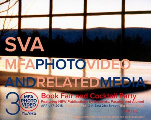 """MFA Photography, Video and Related Media Book Fair 2018""  