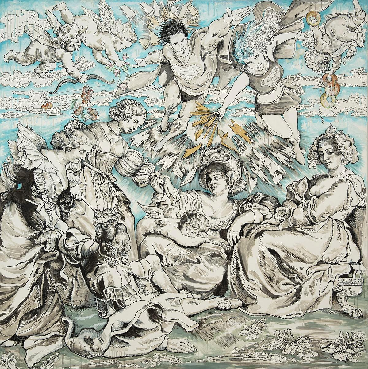 """Audrey Flack """"Master Drawings from Crivelli to Pollock"""" 