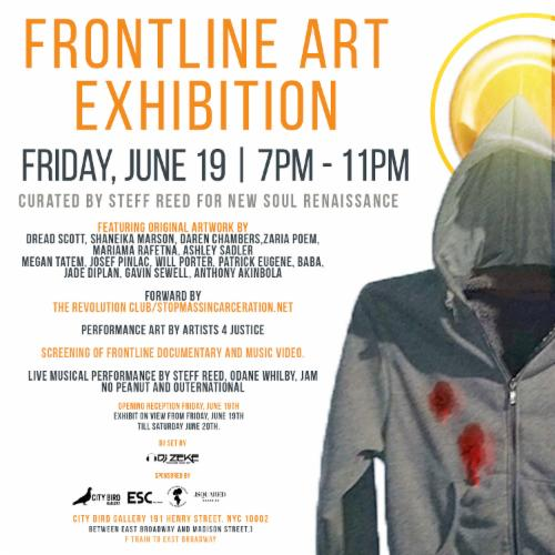 Frontline Art Exhibition Curated by Steff Reed for New Soul Renaissance | Events Calendar