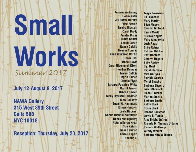 Small Works Summer 2017 | Events Calendar