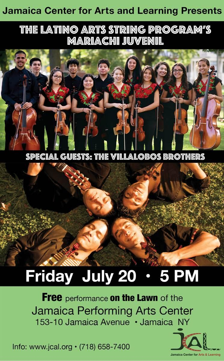 """The Latino Arts String Program Mariachi Juvenil"" Special Guests: The Villalobos Brothers | Events Calendar"