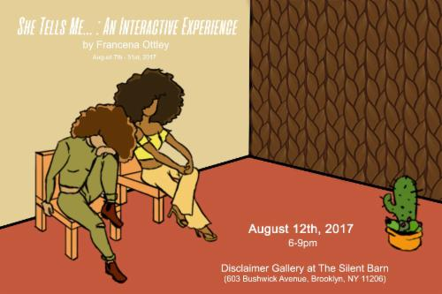 """She tells me... : An Interactive Experience""  