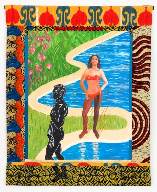 "Emma Amos ""Black Bodies"" | Events Calendar"