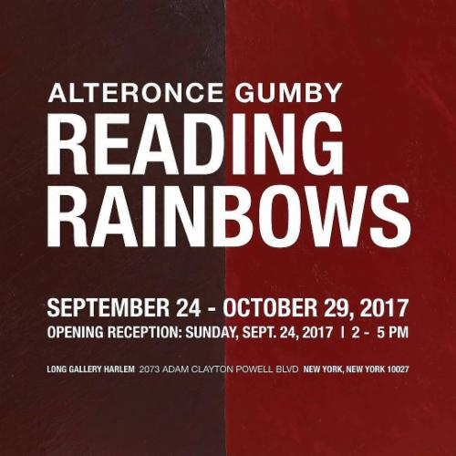 ALTERONCE GUMBY: READING RAINBOWS  | Events Calendar