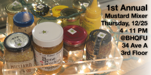 Holiday Mustard Mixer a casual adn yellow affair | Events Calendar