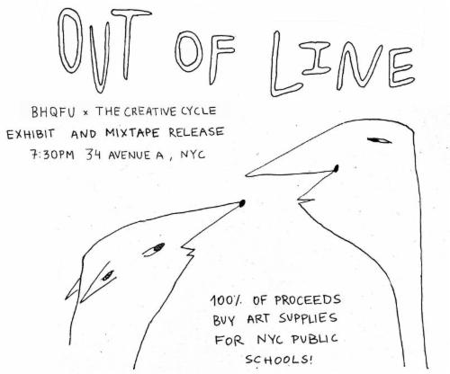 The Creative Cycle x BHQFU: Out of Line  | Events Calendar
