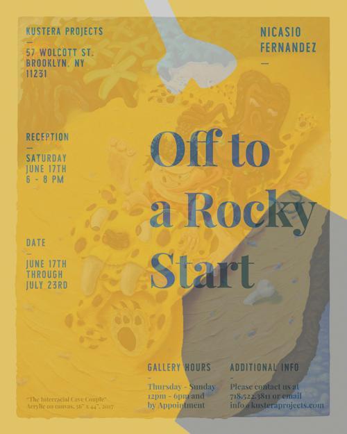 "Nicasio Fernandez ""Off to a Rocky Start""   Events Calendar"