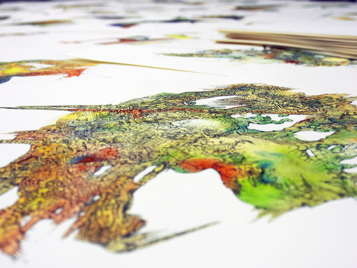 "Shu Ohno ""Doodles | Drawing & Sculpture"" | Events Calendar"
