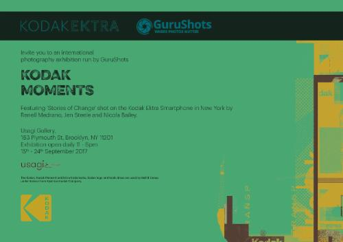 Kodak Ektra and GuruShots present Kodak Moments Photography Exhibition  | Events Calendar