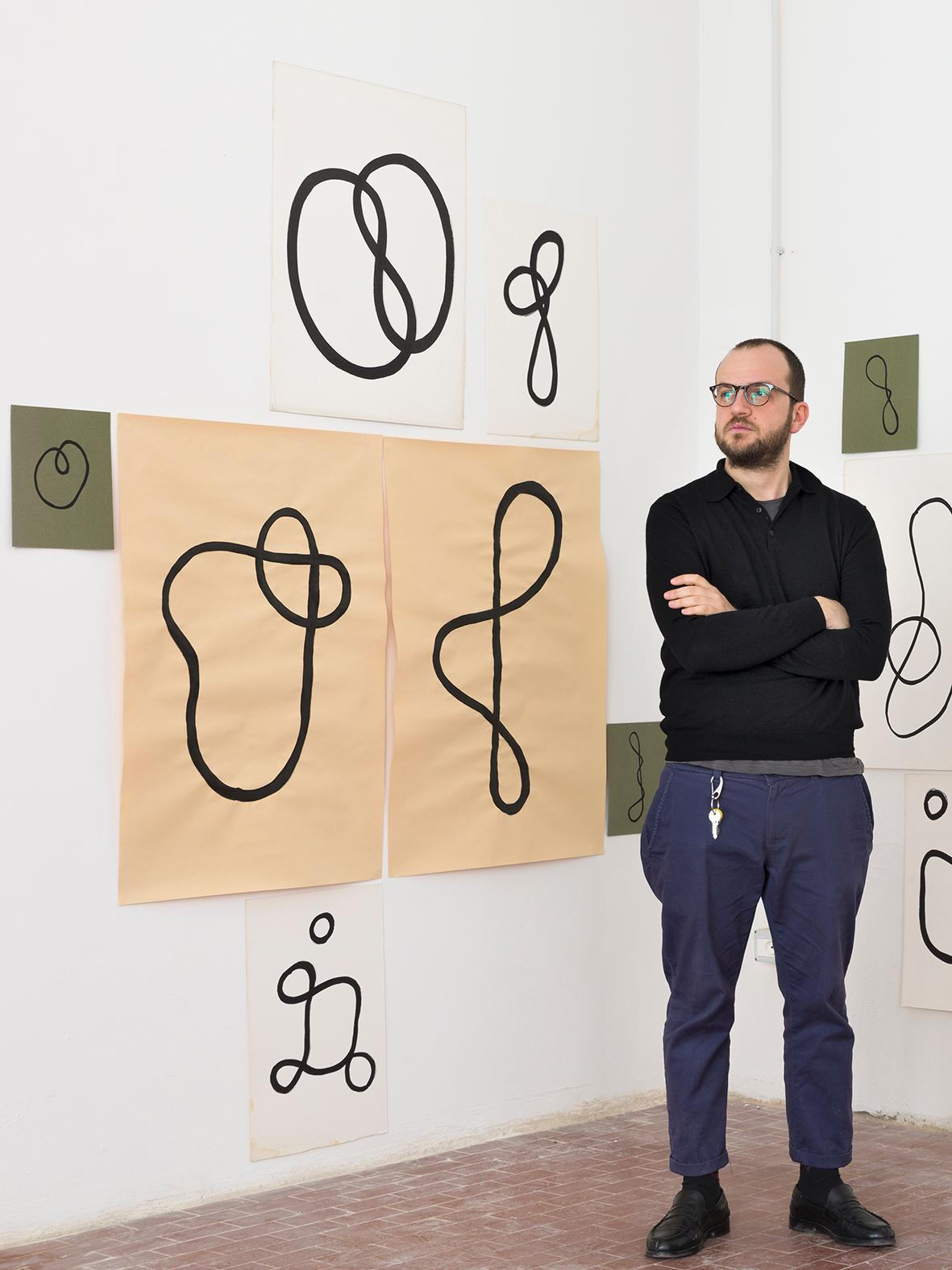 "Giuseppe De Mattia ""Disrupted Drawings"" 
