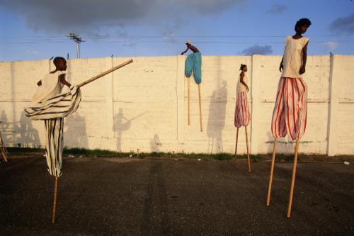 """Moko Jumbies: The Dancing Spirits of Trinidad""  | Events Calendar"