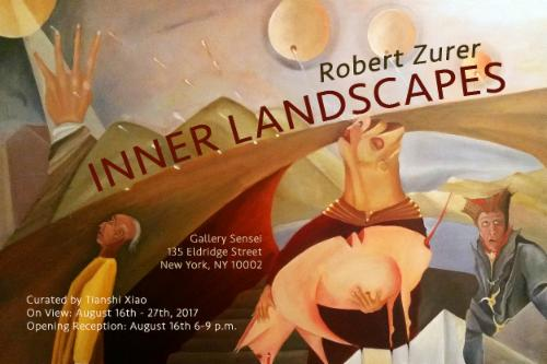 "Robert Zurer ""Inner Lanscapes"" 