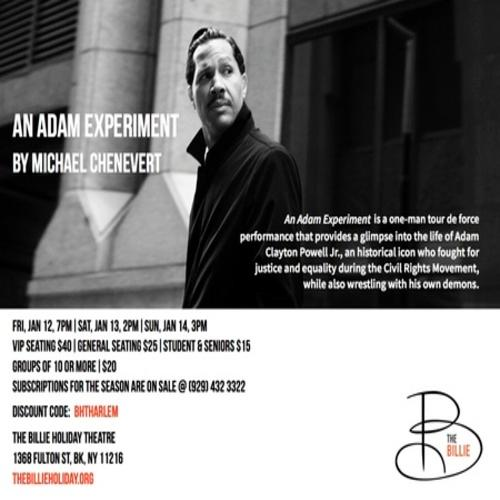 """Opening Night of """"An Adam Experiment"""" by Michael Chenevert  
