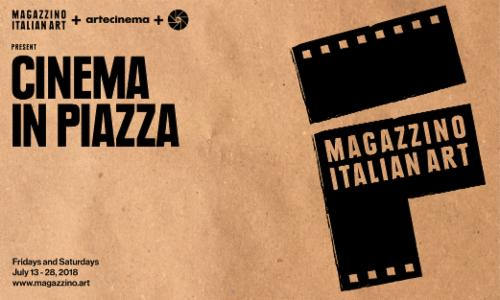 """Cinema in Piazza""  