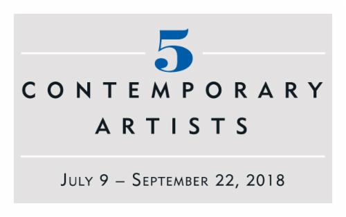 """Five Contemporary Artists""  
