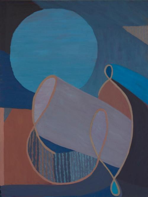"""Armature: New Paintings by Liz Ainslie""  