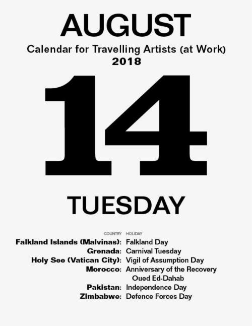 """""""Never Take a Vacation with an Artist Who Collects the Same Stuff You Do""""  