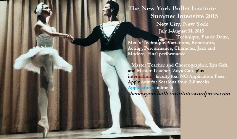 NYBI Summer Intensive Ballet, Teacher Training and Choreography Workshops | Events Calendar