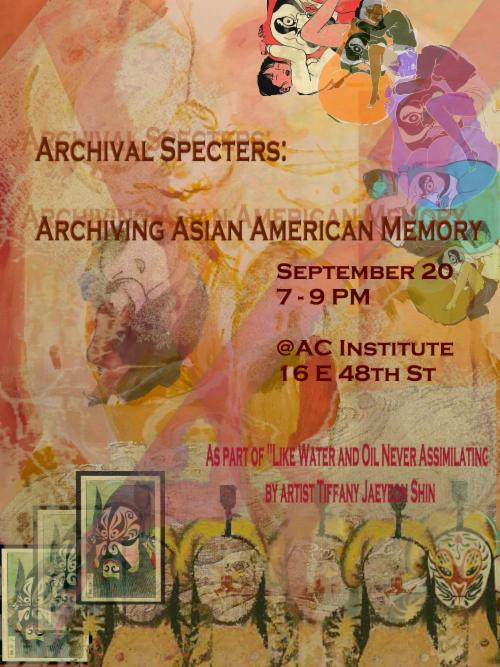 Archival Specters: Archiving Asian American History    Events Calendar