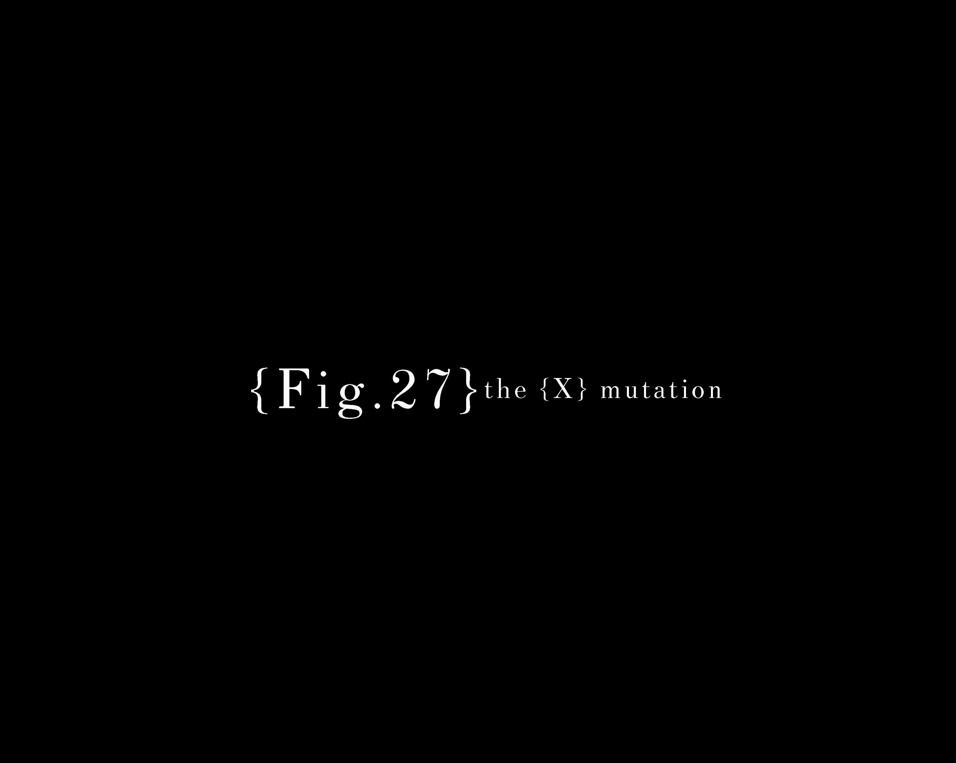 "Marvin Touré ""{Fig. 27} The {X} Mutation"" | Events Calendar"