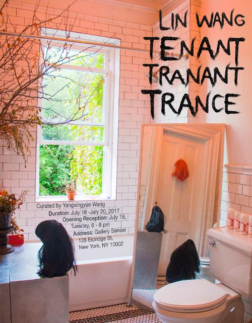 "Lin Wang: ""Tenant, Tranant, Trance"" An Interstice Occupied by Uncanny Cyborgs 