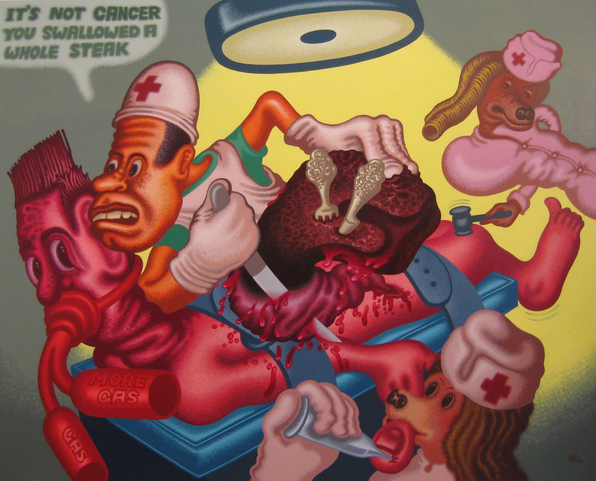Peter Saul on His Work  | Events Calendar