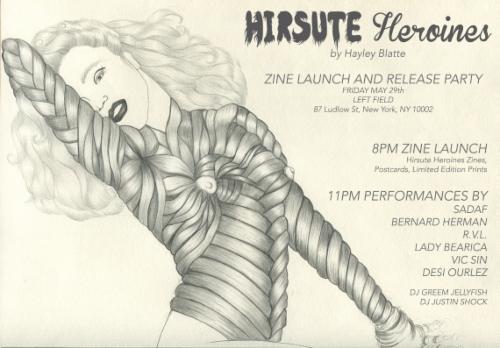 HIRSUTE HEROINES Vol. 3 Release Show Performances: SADAF, Bernard Herman, RVL, Lady Bearica, Vic Sin, & Desi Ourlez | Events Calendar