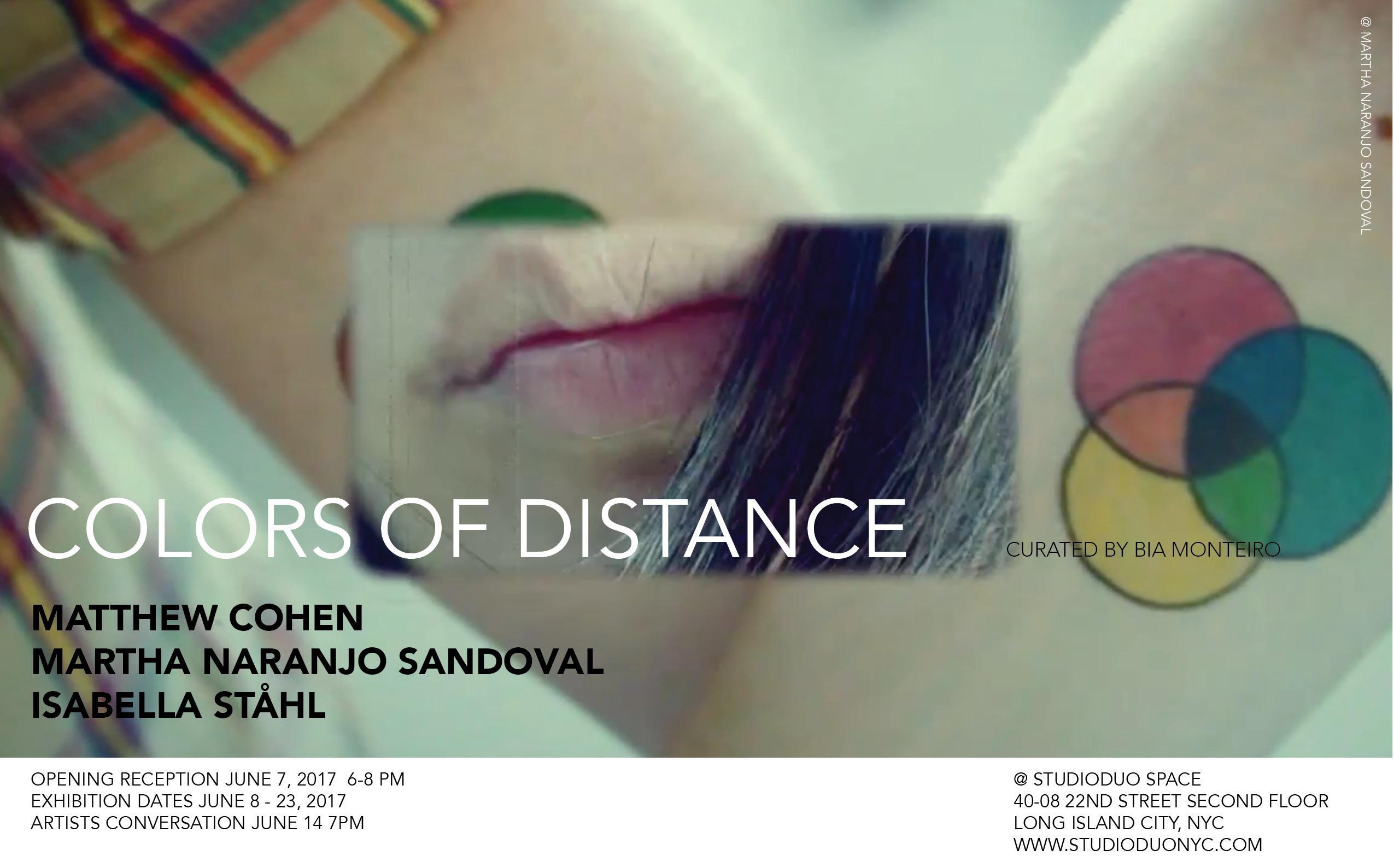 """Colors of Distance""  | Events Calendar"