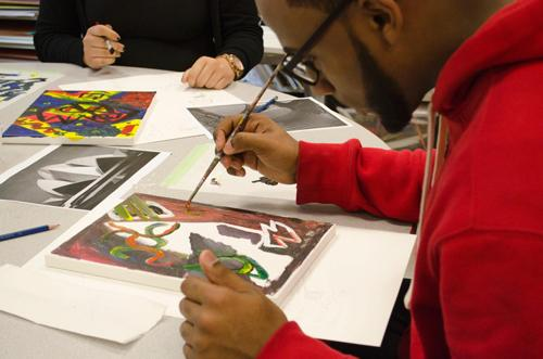 Studio Workshop: Abstraction for Adults  | Events Calendar