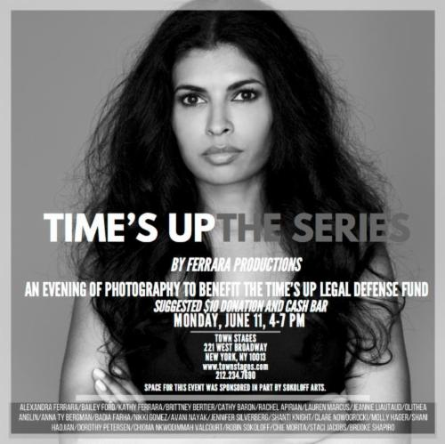 """""""TIME'S UP: THE SERIES presented by FERRARA PRODUCTIONS""""  