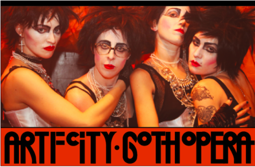 Dancing In the Dark: The Art F City Goth Benefit  | Events Calendar