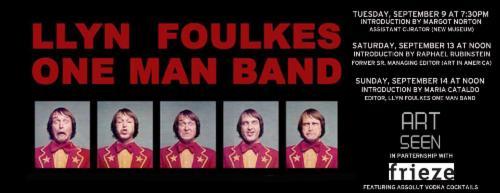 LLYN FOULKES ONE MAN BAND  | Events Calendar