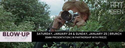 Art Seen presents: Michelangelo Antonioni's BLOW UP in 35mm!  | Events Calendar
