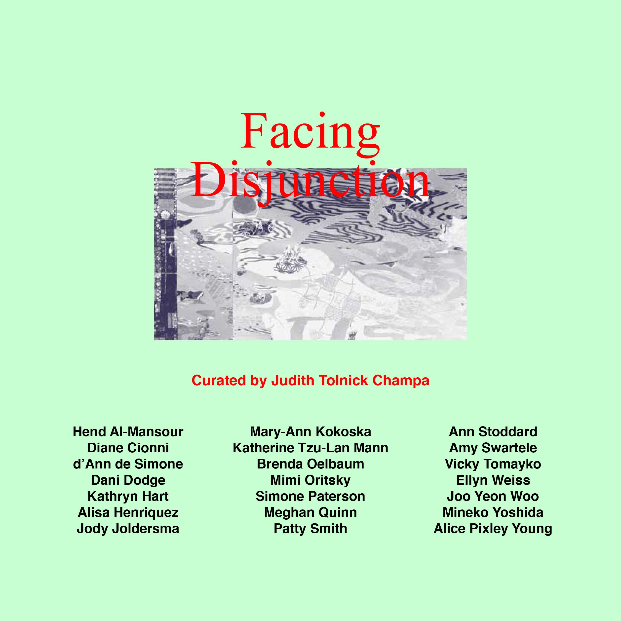 """Facing Disjunction""  