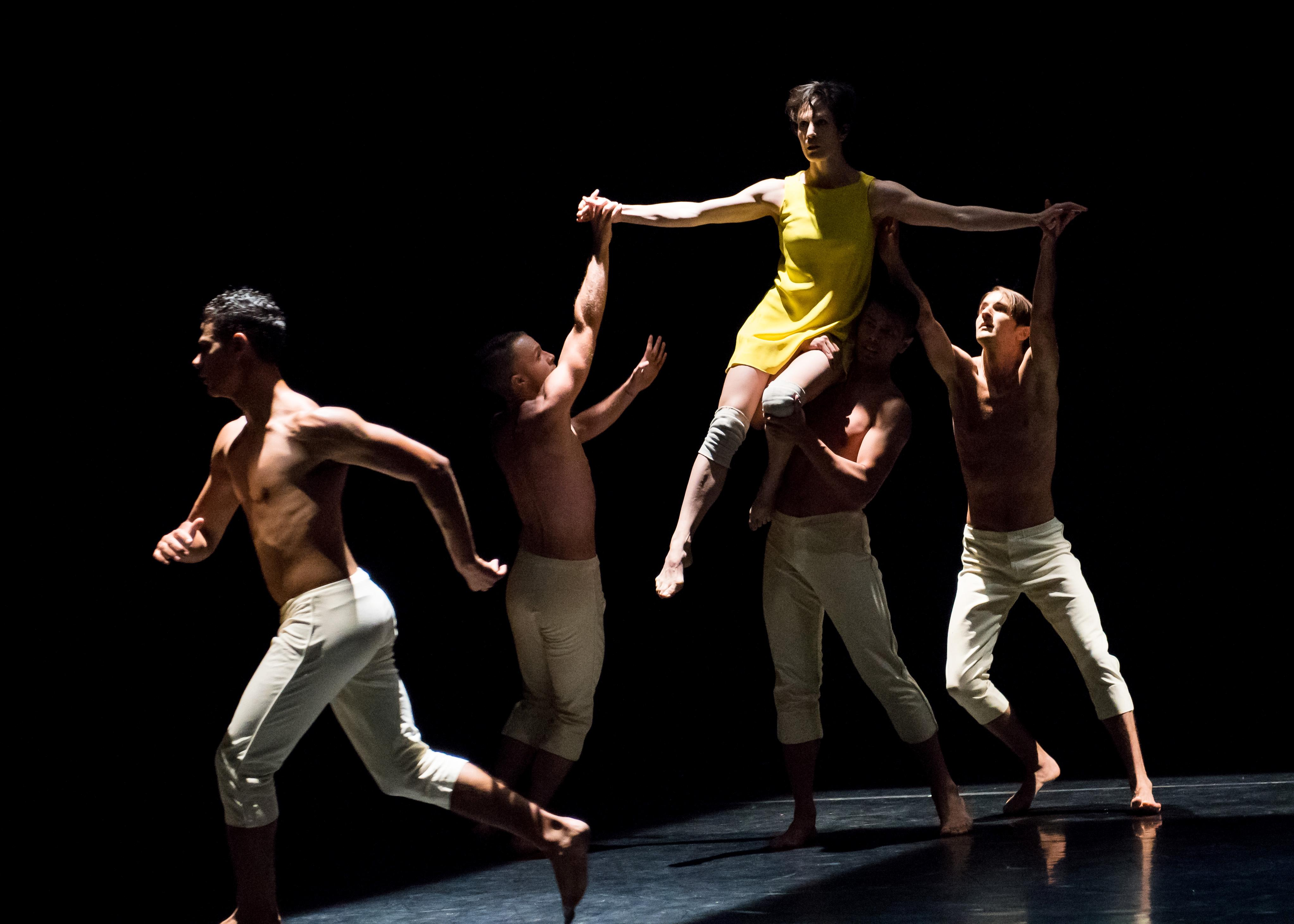 """""""The World Premiere of Anna"""" Presented by CUNY Dance Initiative and John Jay College in collaboration with Dušan Týnek Dance Theatre 