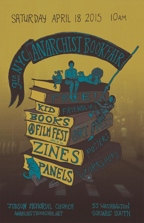 9th NYC ANARCHIST BOOK FAIR  | Events Calendar