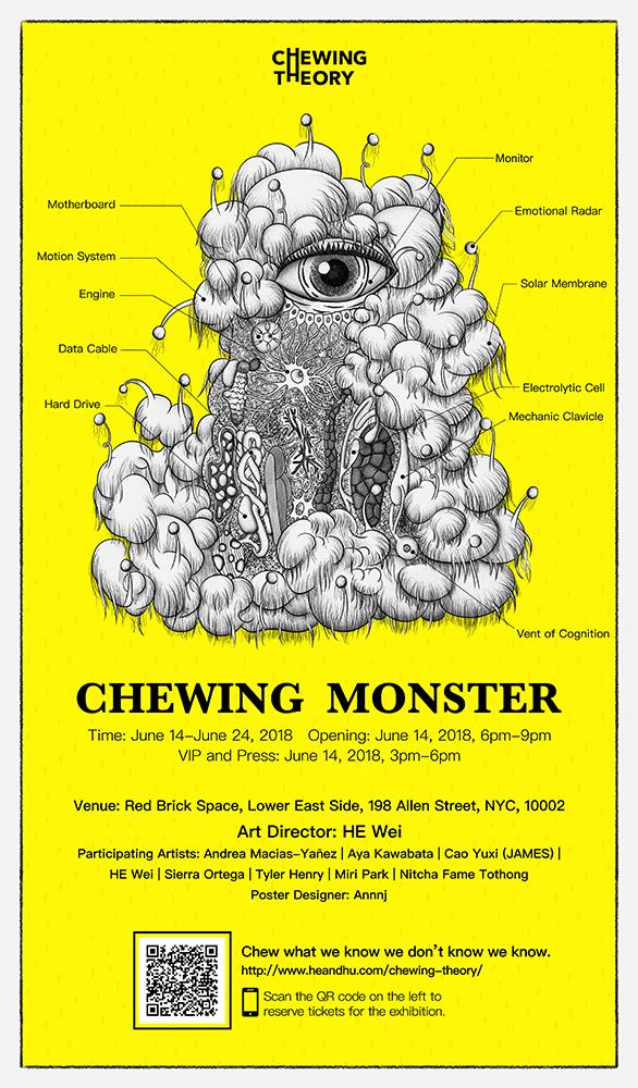 """Chewing Monster"" An Interactive Experience beyond Instagrammable 